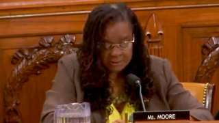 Gwen Moore Shares Her Cancer Diagnosis During Congressional Hearing on Health Care