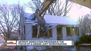 Detroit demolition program is the focus of grand jury investigation - Video