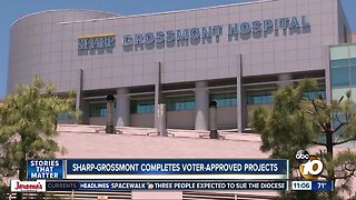 Sharp- Grossmont Hospital completes voter-approved projects