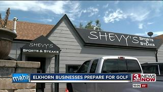 Businesses hope to cash in on golf tournament - Video