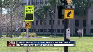 New push to stop speeding drivers - Video