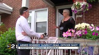 Witness: I watched him die from my front porch - Video