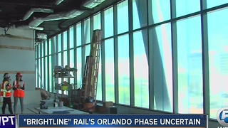 'Brightline' rails Orlando phase uncertain - Video