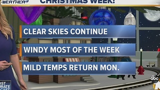 Kristen 6pm Dec 18 Forecast - Video