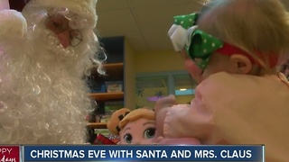 Christmas Eve with Santa and Mrs. Claus - Video
