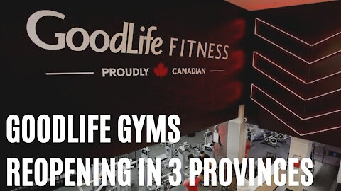 GoodLife Gyms Are Set To Open In 3 Provinces In June But You'll Need A Workout Appointment