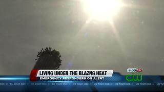 Health issues arise with blazing heat - Video