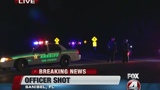 Sanibel Police Officer shot