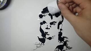 Reversed Ink Aquarelle Reveals Aesthetically Rewarding Results