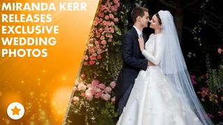 Take a look at Miranda Kerr's fairy tale wedding - Video
