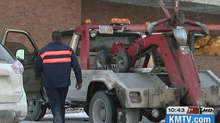Winter blast leaves hundreds without heat; tow companies working around the clock
