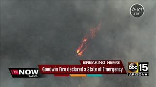 New evacuations ordered, Goodwin Fire declared State of Emergency as fire continues to spread
