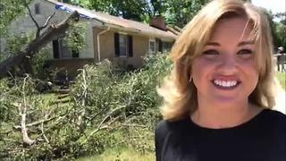 Residents continue cleanup after weekend storms - Video