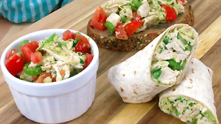 Healthy chicken salad recipe - Video