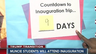 Muncie students will attend inauguration - Video