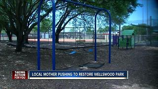 Local mother pushing to restore Wellswood Park - Video