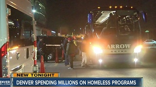 Denver approves more money to bus homeless to shelters, provide services to chronically homeless - Video