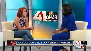 Big Slick weekend interview with Casi Joy - Video