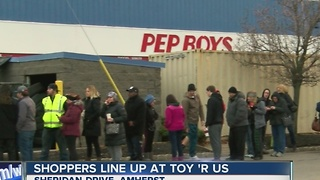 Shoppers line up for hottest holiday toy - Video