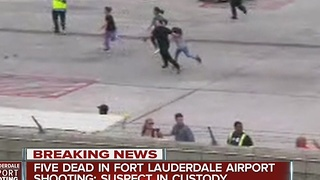 Latest on Fort Lauderdale airport shooting - Video