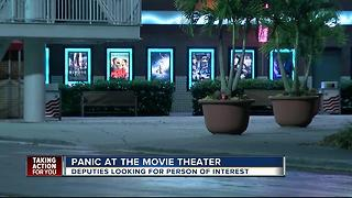 Panic at the movie theater - Video
