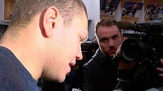 Rasmus Ristolainen & Kyle Okposo talk about the Sabres 3-2 OT win - Video