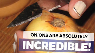 I Always Threw Out My Onion Skins Until She Showed Me What You're Supposed To Use Them For - Video