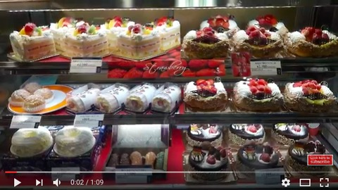Super tasty cakes in Japan! Small but expensive
