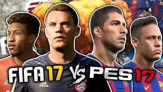 FIFA 17 vs. PES 2017 | The Ultimate Football Game?! | #FFO - Video