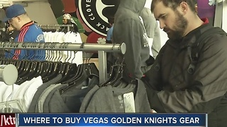 Vegas Golden Knights merchandise flying off the shelves - Video