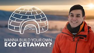 Looking for a cool hobby? Build your own igloo! - Video