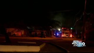 Firefighters respond to lumber fire