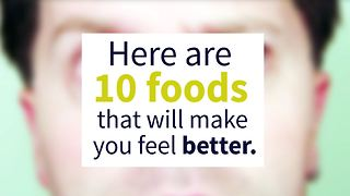 10 great foods that will boost your mood - Video