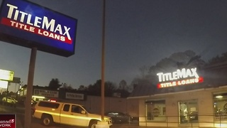 Break-In Under Investigation At Local TitleMax - Video