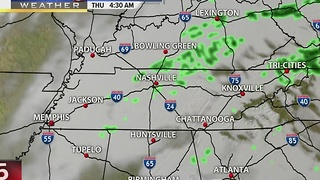 Lelan's Early Morning Forecast: Thursday, November 24, 2016
