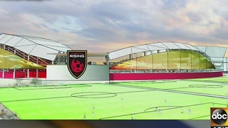 New soccer stadium in Tempe - Video