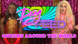 "SWEDEN'S SICKENING QUEENS! ""Qweens Around The World"" Maebe A.Girl & Samantha Starr 