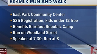 Runners Getting Set for Annual 5K For MLK - Video