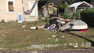 Digital Short: West Tampa residents are upset about excessive trash in the neighborhood. - Video
