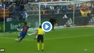 Suarez rocket goal vs Valencia - Video