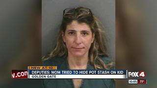 Mother busted for pot, with daughter in car - Video