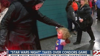 Bakersfield Condors host Star Wars night - Video