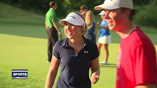 Local golfers happy with first round of LPGA Classic - Video