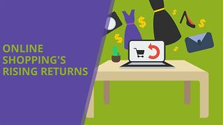 Online shopping's surging refunds and returns - Video