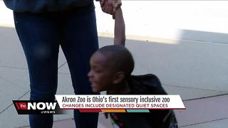 "Akron Zoo is now ""Sensory Inclusive"""