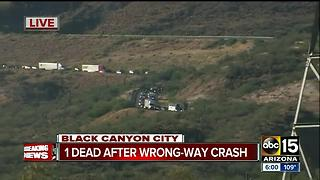 Wrong-way driver causes deadly crash on I-17