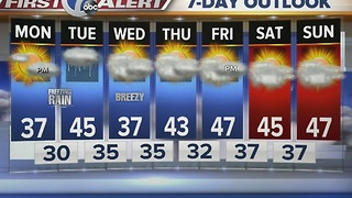 Autumns 7 First Alert Forecast for January 16th 7 Eyewitness News at Noon - Video