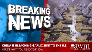 Bleached Garlic Is Making It's Way Into The U.S. From China, Here's What You Need To Know - Video