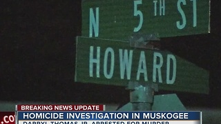 Muskogee Police investigating homicide - Video