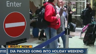 Holiday travel rush begins